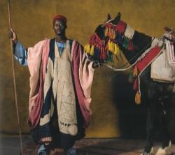 Cavalier et son Dongola