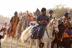 Cavaliers et leurs chevaux Baluchi