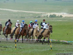 Course de poneys Bachkirs