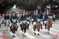 Défilé de poneys Baise - Guangxi