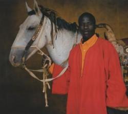 Portrait d'un Dongola et de son cavalier
